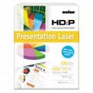HD:P Presentation Laser Paper, 96 Brightness, 28lb, 8-1/2x11, White, 500/Ream