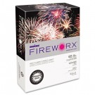 FIREWORX Colored Cover Stock, 65 lbs., 8-1/2 x 11, Dynamite White, 250 Sheets