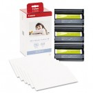 KP-108IN Color Ink Ribbon w/Glossy 4 x 6 Photo Paper Pack, 108 Sheets