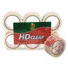 "Heavy-Duty Carton Packaging Tape, 1.88"" x 55 yds., Clear, 6 Rolls"