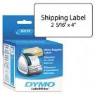 Shipping Labels, 2-5/16 x 4, White, 300/Box