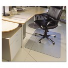 ClearTex Ultimat Polycarbonate Chair Mat for Hard Floors, 48 x 60, Clear