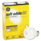 Incandescent Globe Bulbs, 60 Watts, 4/Pack