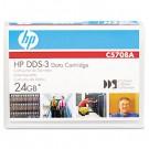 "1/8"" DDS-3 Cartridge, 125m, 12GB Native/24GB Compressed Capacity"