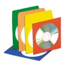 CD/DVD Envelopes with Clear Window, Assorted Colors