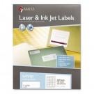 White All-Purpose Labels, 1 x 2-5/8, 3000/Box