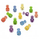 Magnetic Push Pins for Magnetic Planning Boards, Assorted Colors, 20/Pack