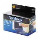 Notebook ScreenKleen Pads, Cloth, 2 1/2 x 5 1/4, White, 24/Box