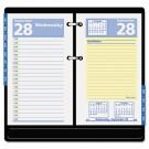 "QuickNotes Recycled Desk Calendar Refill, 3 1/2"" x 6"", 2013"