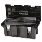 "Industrial 26"" Tool Box, Black"