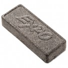 Dry Erase Eraser, Soft Pile, 5 1/8w x 1 1/4h