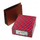 5 1/4 Inch Expansion File PocketsStraight Tab, Letter, Brown, 10/Box