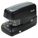 Flat Clinch Electric Stapler with Jam Release, 70-Sheet Capacity, Black