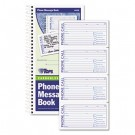 Spiralbound Message Book, 2 3/4 x 5, Carbonless Duplicate, 600-Set Book