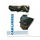 Light-Grade Can Liners, 17 x 17, .35 Mil, 4-Gallon, Black, 50/Roll