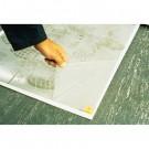 Walk-N-Clean Dirt Grabber Mat w/Starter Pad, 31-1/2 x 25-1/2, Gray