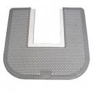 Disposable Toilet Floor Mat, Nonslip, Orchard Zing Scent, 23 x 21-5/8, Gray