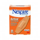 Nexcare Active Extra Cushion Flexible Foam Bandages, 1 1/16 x 3, Adhesive