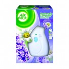 Metered Mini-Dispenser Kit, Lavender, White, Plastic