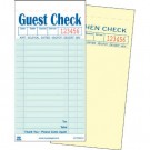 Guest Check Book, Carbonless Duplicate, 3 1/2 x 6 7/10