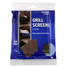 Griddle-Grill Screen, Aluminum Oxide, Brown, 4 in x 5-1/2 in, 8 per Pack