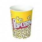 Paper Popcorn Cup, 32 oz, Popcorn Design, 50/Pack